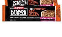 ENERVIT GYMLINE MUSCLE PROTEIN BAR 50% ARANCIA CIOCCOLATO 1PEZZO