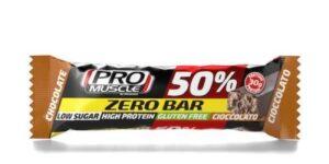 PROMUSCLE ZERO BAR 50% BARRETTA IPERPROTEICA AL CACAO 60 G