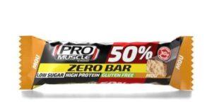 PROMUSCLE ZERO BAR 50% BARRETTA IPERPROTEICA AL MOU 60 G