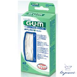 GUM IMPLANT FLOSS FILO 50PZ