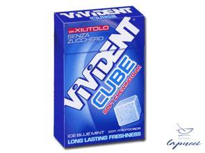 VIVIDENT XYLIT CUBE ICE BLUE