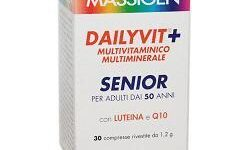 DAILYVIT SENIOR MULTIVITAMINICO E MULTIMINERALE 30 COMPRESSE