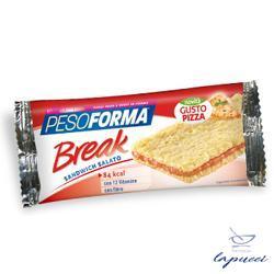 PESOFORMA SNACK BREAK PIZZA 20 G