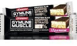 ENERVIT GYMLINE MUSCLE PROTEIN BAR 27% DOPPIO STRATO MILK-CIOCK