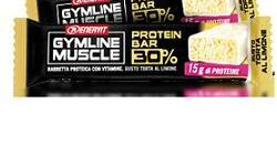 ENERVIT GYMLINE MUSCLE PROTEIN BAR 30% TORTA AL LIMONE 1 PEZZO