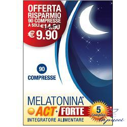 MELATONINA ACT 1MG  MELATONINA ACT FORTE 5MG COMPLEX 90 COMPRES