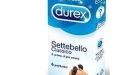 PROFILATTICO DUREX SETTEBELLO CLASSICO 6 PEZZI