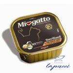 MIOGATTO STERIL CARNI BIANCHE/CAROTE GRAIN FREE 100 G