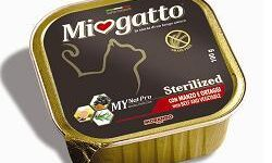 MIOGATTO STERIL MANZO/ORTAGGI GRAIN FREE 100 G