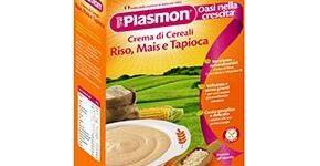 PLASMON CEREALI RISO MAIS TAPIOCA 230 G