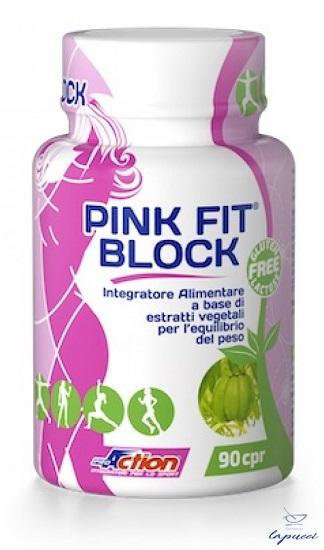 PROACTION PINK FIT BLOCK 90 COMPRESSE