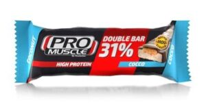 PROMUSCLE DOUBLE BAR 32% BARRETTA PROTEICA AL COCCO 60 G