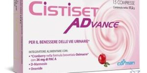 CISTISET ADVANCE 15 COMPRESSE