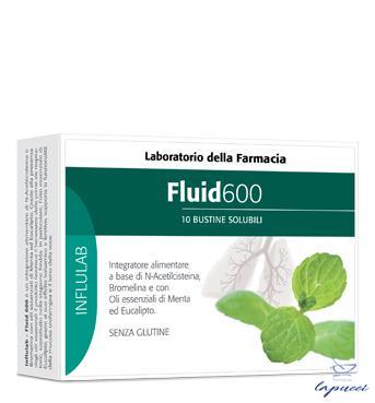 LABORATORIO DELLA FARMACIA FLUID 600 10 BUSTINE LINEA INFLULAB