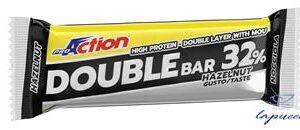 PROACTION DOUBLE BAR 32% NOCCIOLA CARAMELLO 60 G