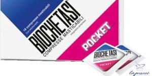 BIOCHETASI POCKET DIGESTIV 18 COMPRESSE MASTICABILI NUOVA FORMU
