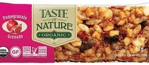 TASTE OF NATURE BARRETTA AL SUCCO DI MELAGRANA BIO VEGAN 40G