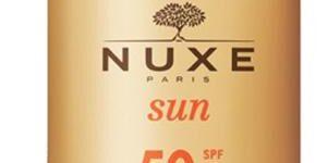 NUXE SUN FLUIDE LEGERE SPF50 50 ML
