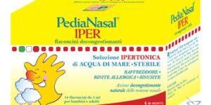 PEDIANASAL IPER SOLUZIONE IPERTONICA 18 FIALE DA 5 ML