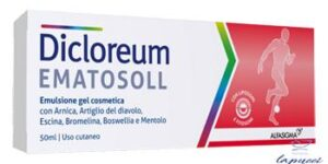 DICLOREUM EMATOSOLL GEL 50 ML