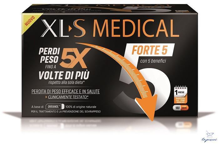 XLS MEDICAL FORTE 5 180 CAPSULE