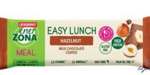 ENERZONA EASY LUNCH HAZELNUT BARRETTA 58 G