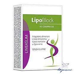 LIPOBLOCK 45 COMPRESSE 49,5 G LINEA LINEASLIM