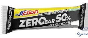 PROACTION ZERO BAR 50% TORTA SACHER 60 G
