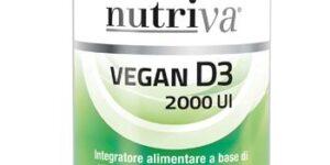 NUTRIVA VEGAN D3 60 COMPRESSE 2000 UI