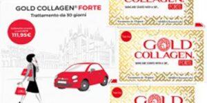GOLD COLLAGEN FORTE TRATTAMENTO MENSILE 30 FLACONI