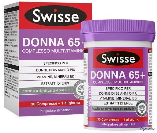 SWISSE DONNA 65 COMPLESSO MULTIVITAMINICO 30 COMPRESSE