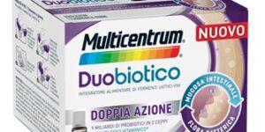 MULTICENTRUM DUOBIOTICO 8 FLACONCINI