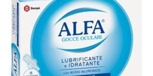 ALFA LUBRIFICANTE MONODOSE 15 FIALE 0,5 ML