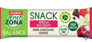 ENERZONA SNACK VANILLA RED FRUIT 33 G