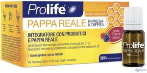 PROLIFE PAPPA REALE 10 FLACONI DA 8 ML