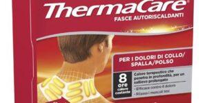 FASCE AUTORISCALDANTI A CALORE TERAPEUTICO THERMACARE COLLO/SPA