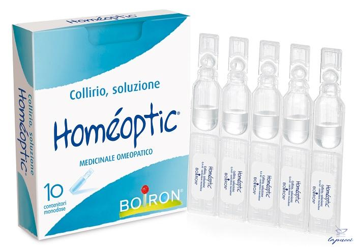HOMEOPTIC COLLIRIO MONODOSE 10 FIALE 0,4 ML