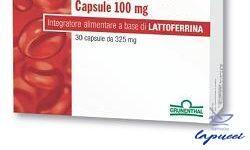 LATTOGLOBINA 30 CAPSULE