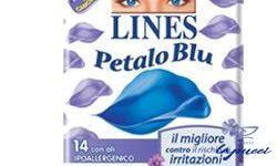 LINES PETALO BLU NOTTE ALI 10 PEZZI