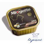 MIOGATTO ADULT SALMONE/GAMBERETTI GRAIN FREE 100 G