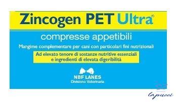 ZINCOGEN PET ULTRA BLISTER 60 COMPRESSE APPETIBILI