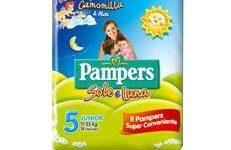 PANNOLINO PER BAMBINO PAMPERS SOLE & LUNA FLASH JUNIOR 16 PEZZI
