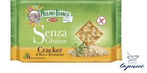 MULINO BIANCO CRACKER AL RISO E ROSMARINO 200 G