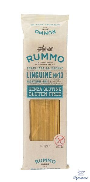 RUMMO LINGUINE N13 DI RISO INTEGRALE E MAIS 400 G