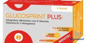 GLUCOSPRINT PLUS ARANCIA 6 FIALOIDI DA 25 ML