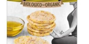 BIO MINI SNACK GALLETTE DI MAIS ALL'OLIO EXTRAVERGINE D'OLIVA 5
