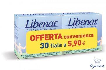 LIBENAR ISO 15 FIALE  15 FIALE BIPACCO