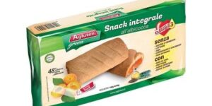 AGLUTEN SNACK INTEGRALE ALL'ALBICOCCA 40 G