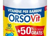 ORSOVIT CARAMELLE GOMMOSE 90 PEZZI PROMO