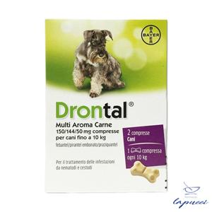 DRONTAL MULTI AROMA CARNE 2 cpr cani